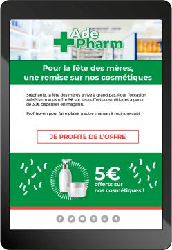 mail pharmacie cosmétiques