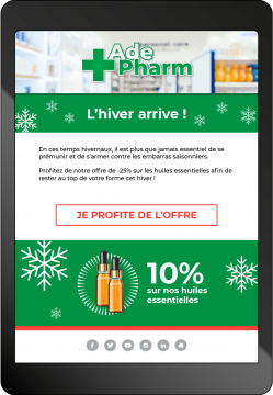 mail pharmacie hiver